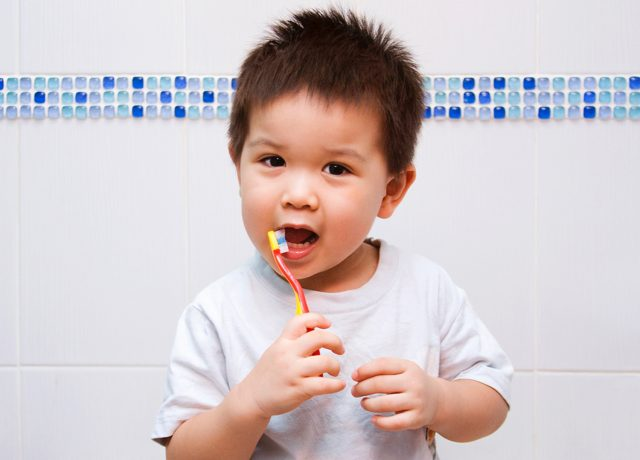 It is never too early for good oral hygiene!