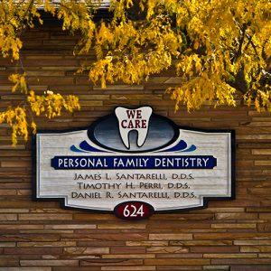 SPS dental front office sign